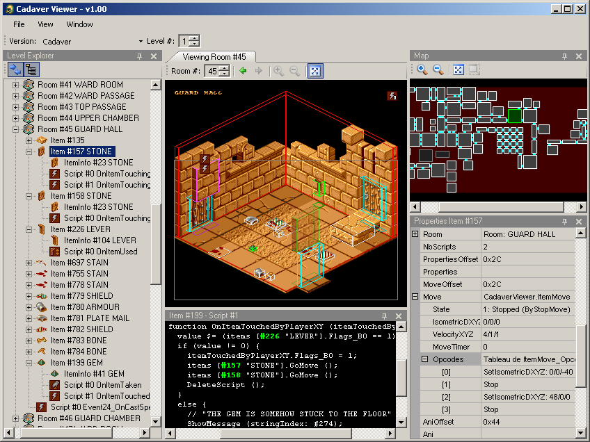 Kroah's Game Reverse Engineering Page - Cadaver - Cadaver Viewer